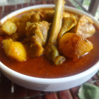 Murgir Dom(Dum Chicken curry)