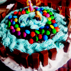 Pool cake( cake decoration idea)