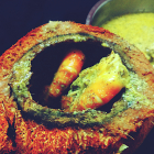 Daab chingri bengali recipe(prawns cooked in green coconut shell)