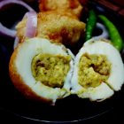 Keema stuffed egg(Egg dolma)