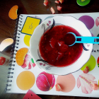 Beetroot carrot mixed soup