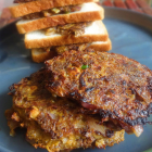Burger or Sandwich patties with banana flower