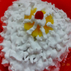Fresh cream Pineapple cake