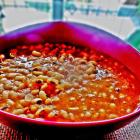 Black eyed pea(lobia) in tomato basil sauce