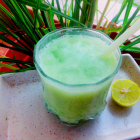 Fresh Lemon grass coconut milk crusher drink