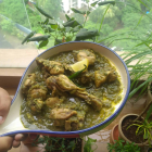 kancha lonka chicken recipe