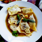 A German cuisine potluck|Recipe of maultaschen