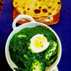 Spinach egg curry | Palak egg curry