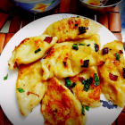 Potato and cheese pierogees