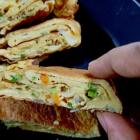 Tamagoyaki| Japanese style rolled omlette
