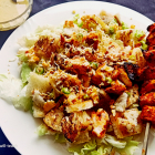 Tandoori chicken Caesar salad recipe | Caesar salad dressing