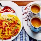 Tomato omelet recipe Maharashtrian