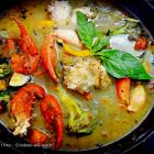 Thai green curry crab recipe
