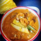Udang masak lemak with nenas |pineapple prawn curry recipe