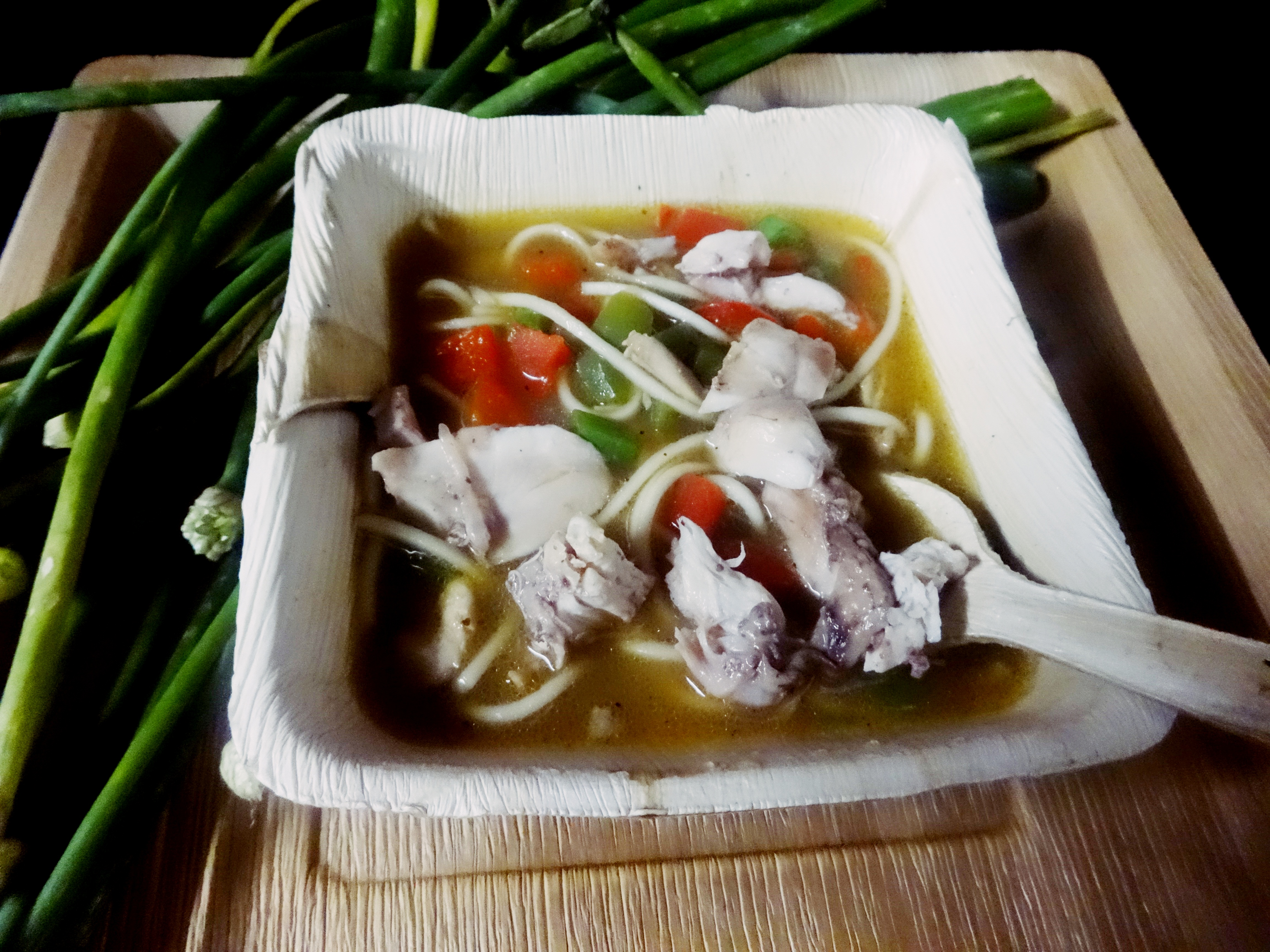 thukpa...A Tibetan noodles soup