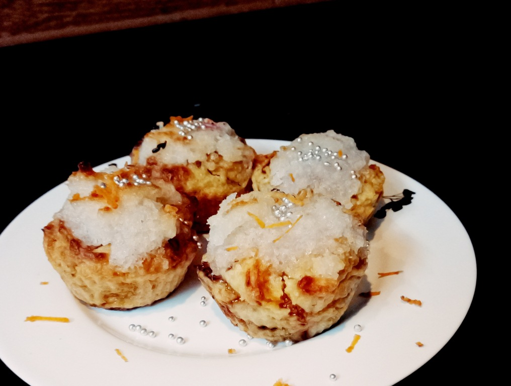 coconut carrot vegan muffins