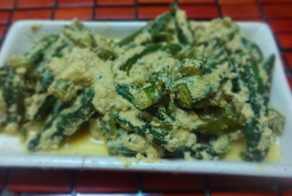Bhindi posto recipe