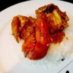 Chettinad Crab curry