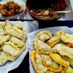 Malay style curry puff