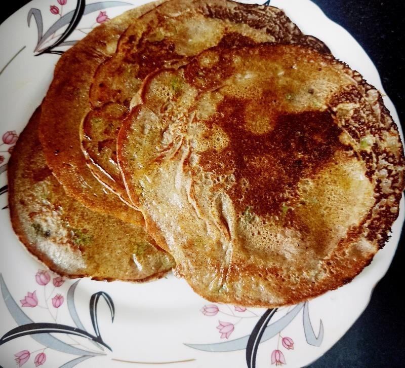 millet pancakes