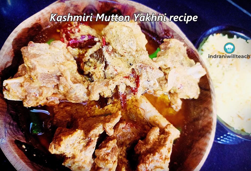 kashmiri mutton yakhni