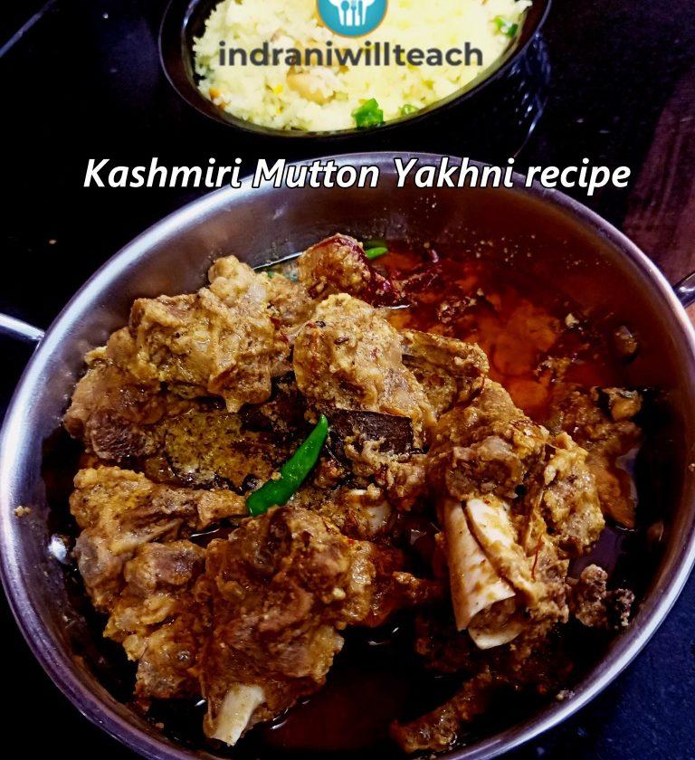 Kashmiri mutton yakhni recipe