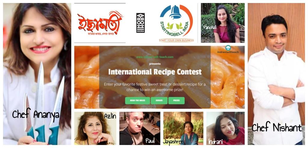 International recipe contest