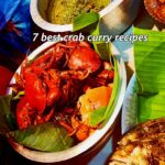 Crab green curry Maharashtrian style
