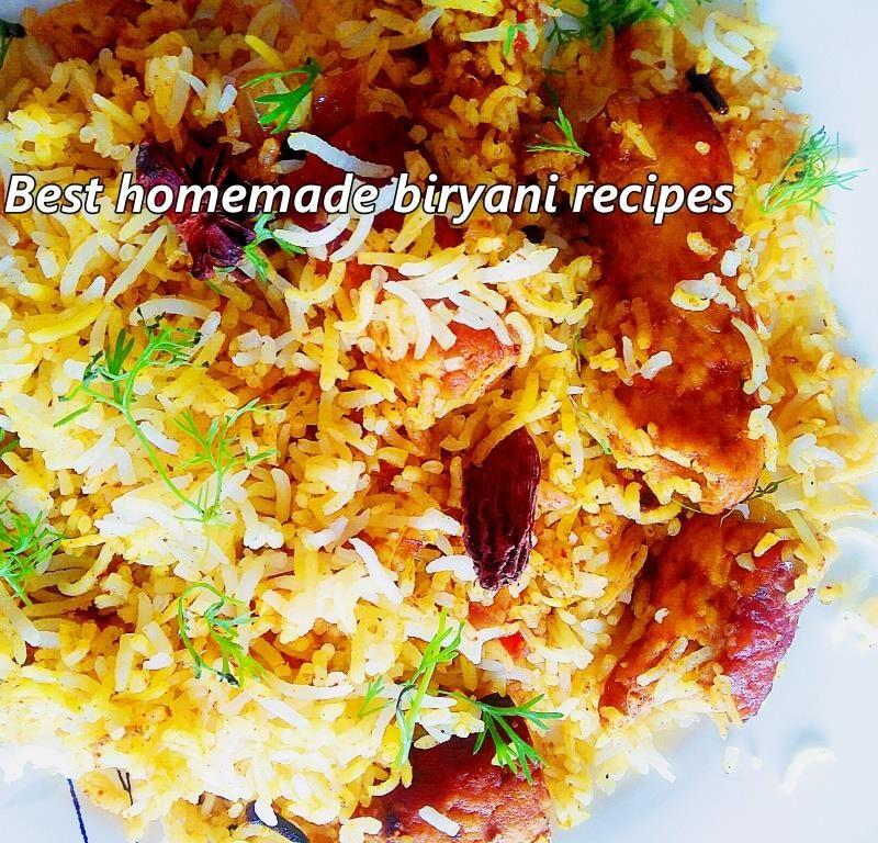 8 biryani recipes