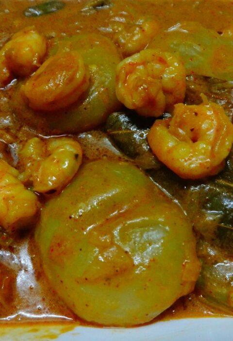 Eral nungu curry